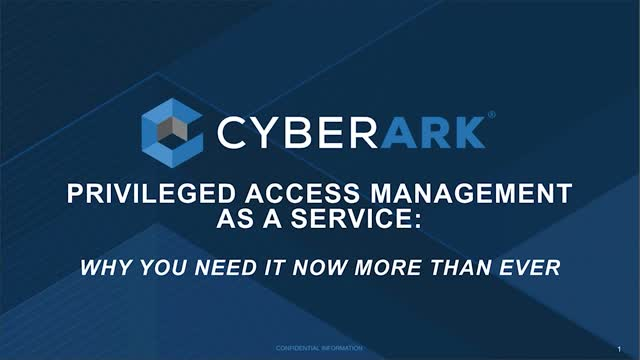 Privileged Access Management as a Service (Spanish)