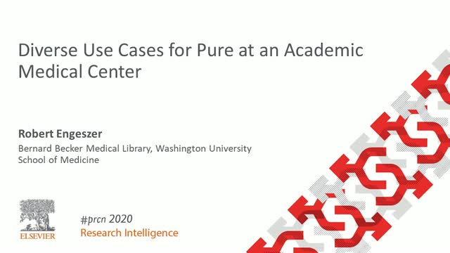 #PRCN2020: Diverse Use Cases for Pure at an Academic Medical Center