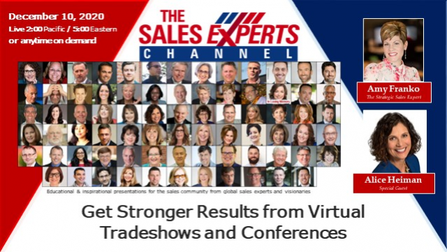 Get Stronger Results from Virtual Tradeshows and Conferences