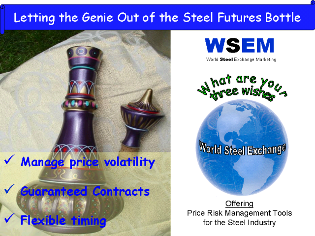 Letting the Genie Out of the Steel Futures Bottle