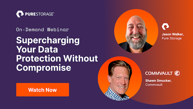 Supercharging Your Data Protection Without Compromise.