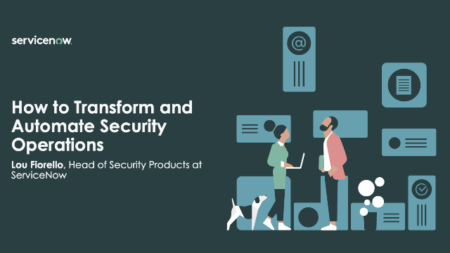 How to Transform and Automate Security Operations