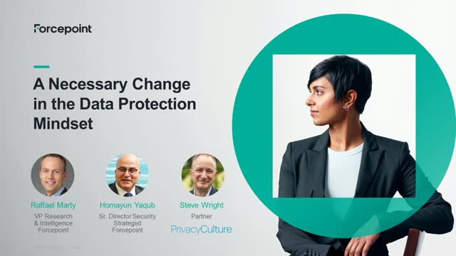 A Necessary Change in the Data Protection Mindset