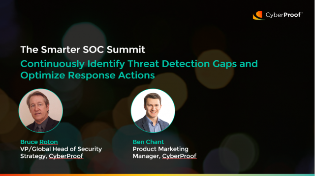 Continuously Identify Threat Detection Gaps and Optimize Response Actions