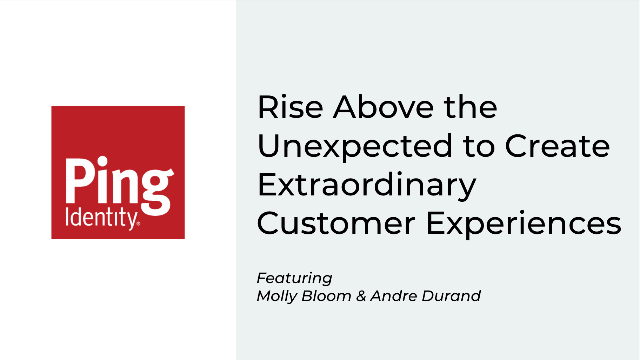Rise Above the Unexpected. Create Extraordinary Customer Experiences.
