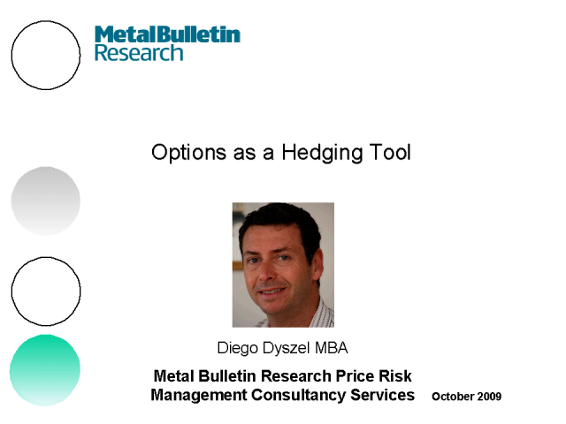 Masterclass: Options as a Hedging Tool