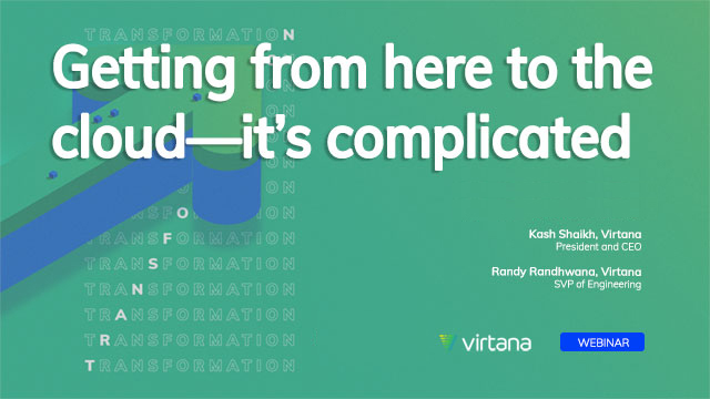 Getting from here to the cloud—it's complicated