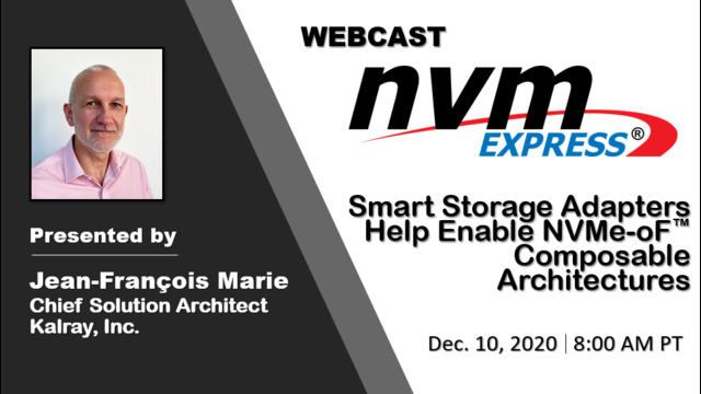 Smart Storage Adapters Help Enable NVMe-oF™ Composable Architectures