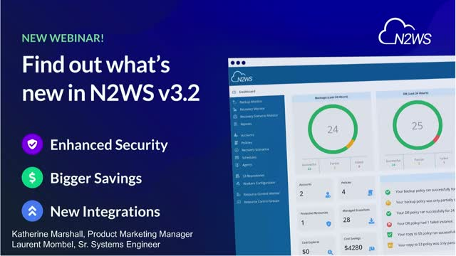 NEW RELEASE: N2WS Backup & Recovery v3.2 - Overview & Demo [EMEA]