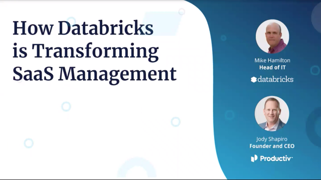 How Databricks Is Transforming SaaS Management
