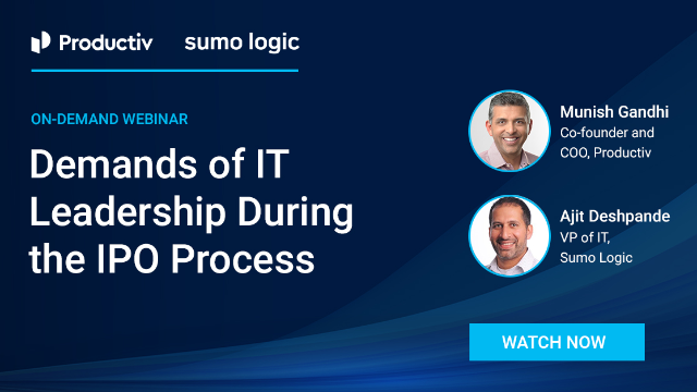 Demands of IT Leadership During the IPO Process