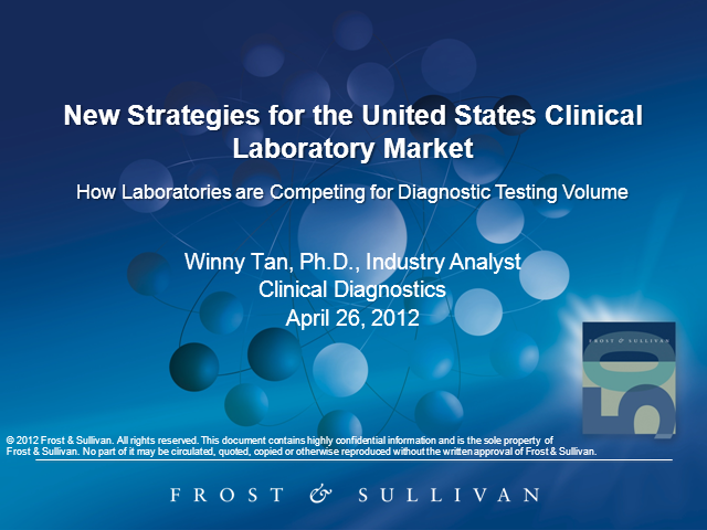 New Strategies for the United States Clinical Laboratory Market