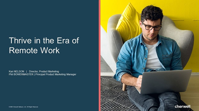 Thrive in the Era of Remote Work
