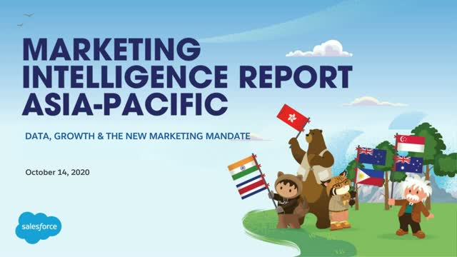 Datorama APAC Marketing Intelligence Report Webinar