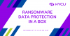 Ransomware Data Protection in a Box
