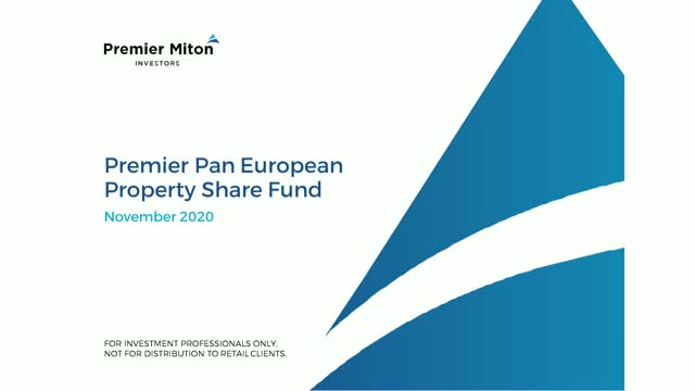 Premier Pan European Property Share Fund webinar with Alex Ross