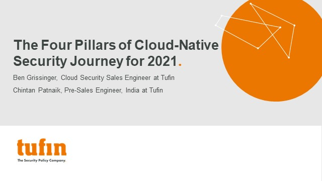 The Four Pillars of Cloud-Native Security Journey for 2021