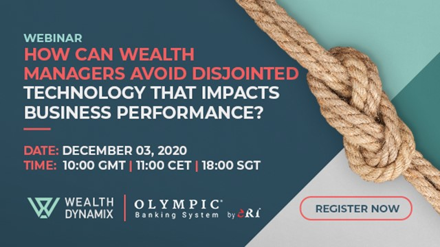 How can wealth managers avoid disjointed technology that impacts the business?