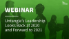 Panel Discussion: Untangle's Leadership Looks Back at 2020 and Forward to 2021