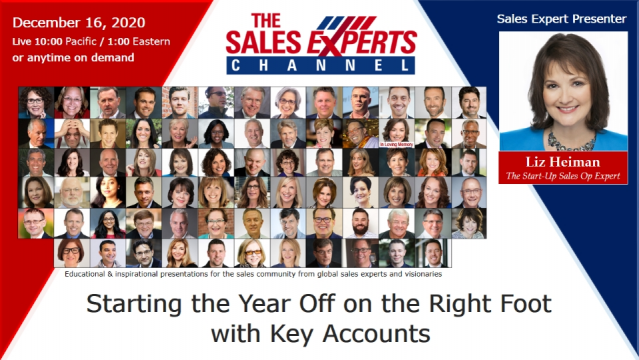 Starting the Year Off on the Right Foot with Key Accounts