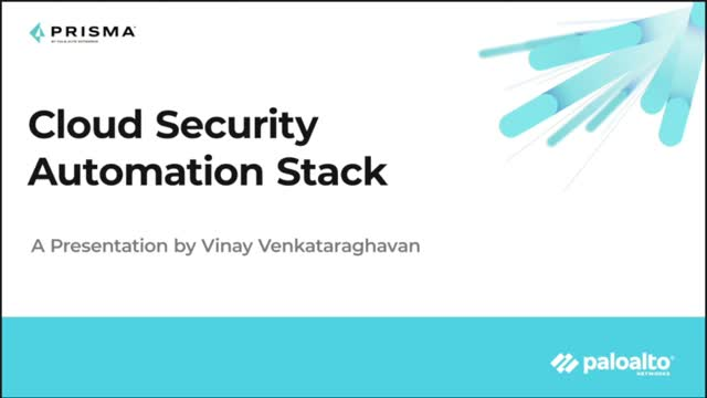 The Security Automation Stack