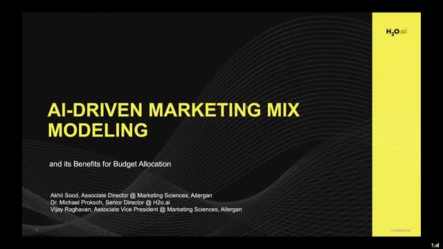 AI-Driven Marketing Mix Modeling