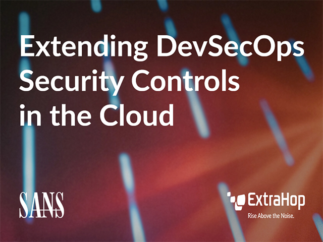Extending DevSecOps Security Controls into the Cloud