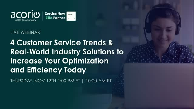 4 Customer Service Trends & Solutions to Increase Optimization and Efficiency