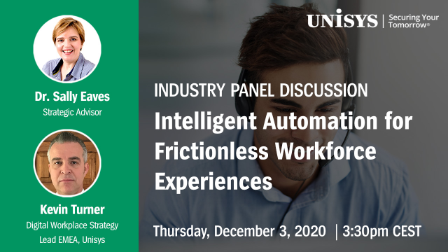 Intelligent Automation for Frictionless Workforce Experiences