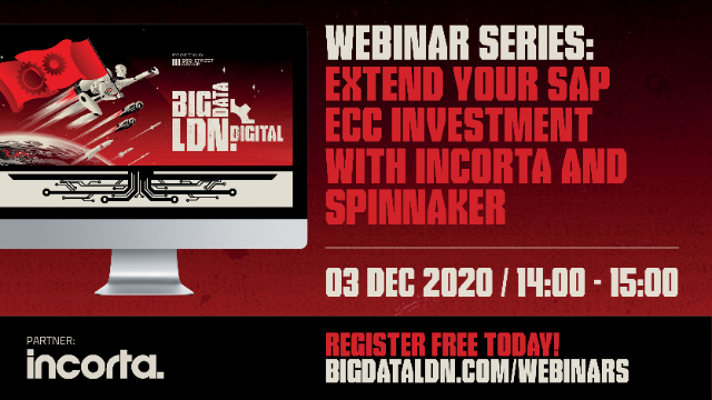 Extend your SAP ECC & Oracle EBS Investment with Incorta & Spinnaker