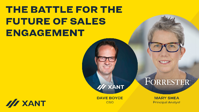 The Battle for the Future of Sales Engagement