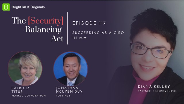 Succeeding as a CISO in 2021
