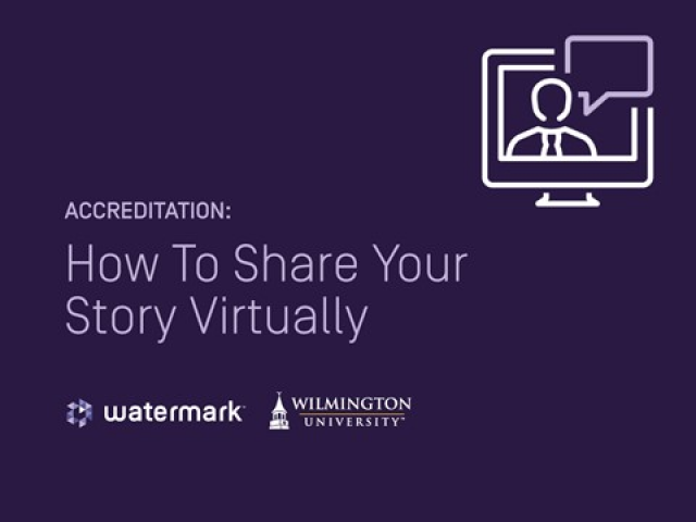 Accreditation: How To Share Your Story Virtually