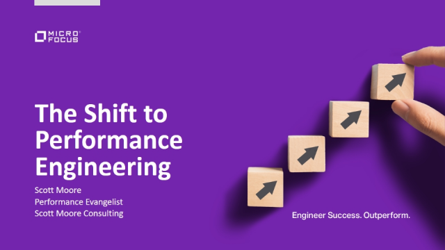 The Shift to Performance Engineering