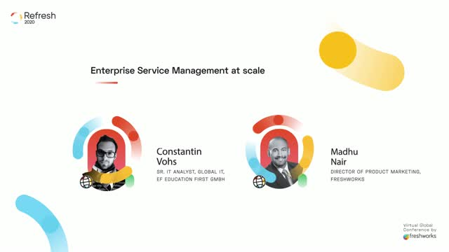 Refresh: Enterprise Service Management at scale