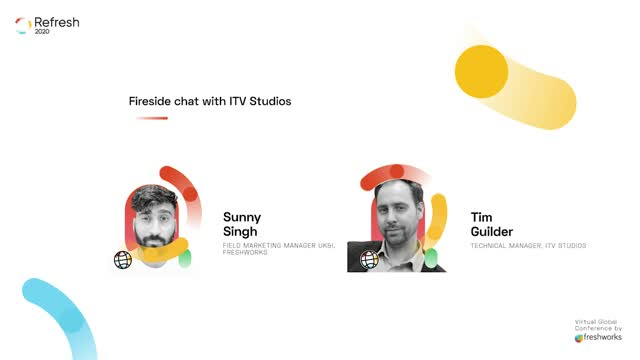 Refresh:  Fireside chat with ITV Studios