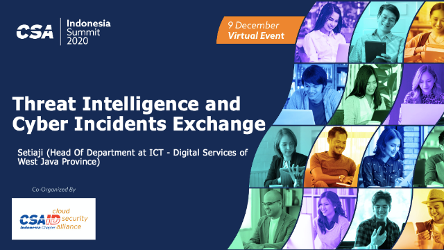 Threat Intelligence and Cyber Incidents Exchange