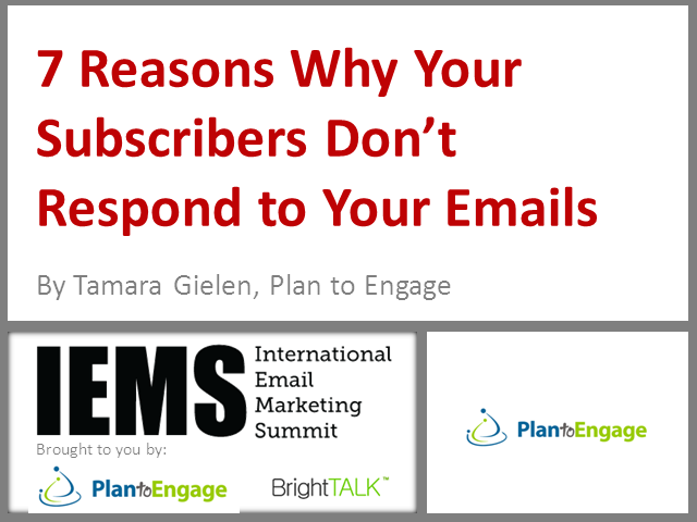 7 Reasons Why Your Subscribers Don't Respond to Your Email Campaigns