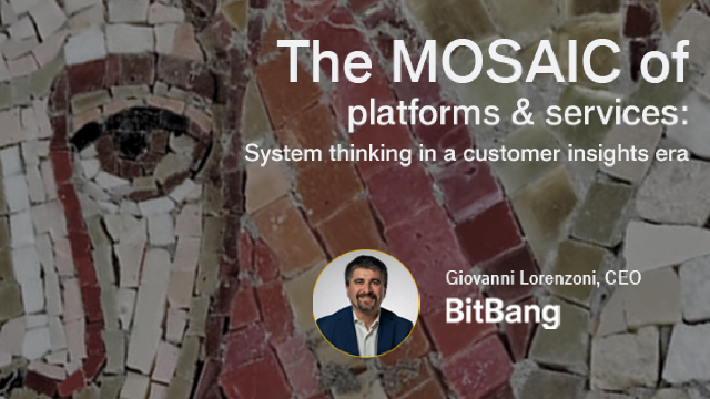 The mosaic of platforms & services: System thinking in a customer insights era
