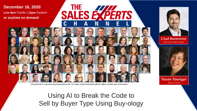 Using AI to Break the Code to Sell by Buyer Type Using Buy-ology