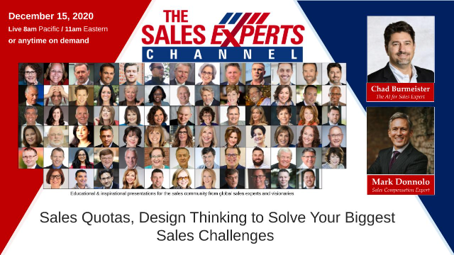 Sales Quotas, Design Thinking to Solve Your Biggest Sales Challenges