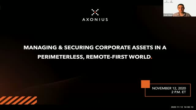 Managing and Securing Corporate Assets in a Perimeterless, Remote-first World