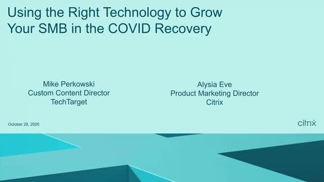 How to grow your SMB in the COVID recovery