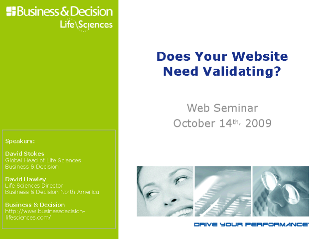 Does Your Website Need Validating?