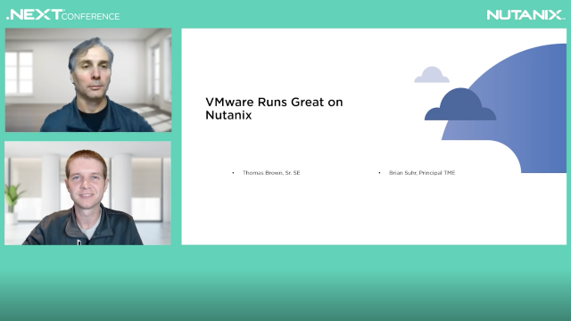 VMWare Runs Great on Nutanix