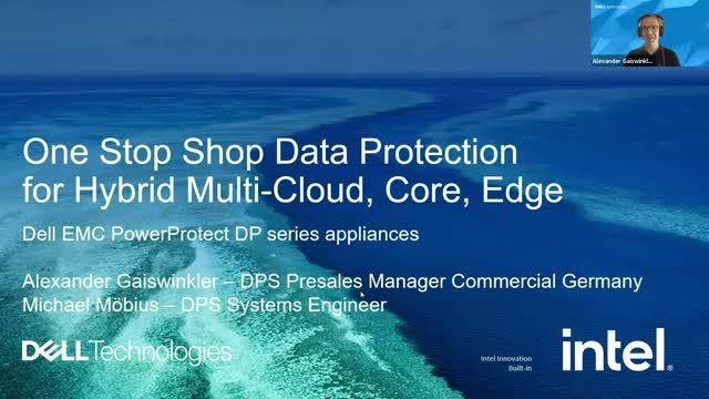 One Stop Shop Data Protection for Hybrid, Multi-Cloud, Core, Edge