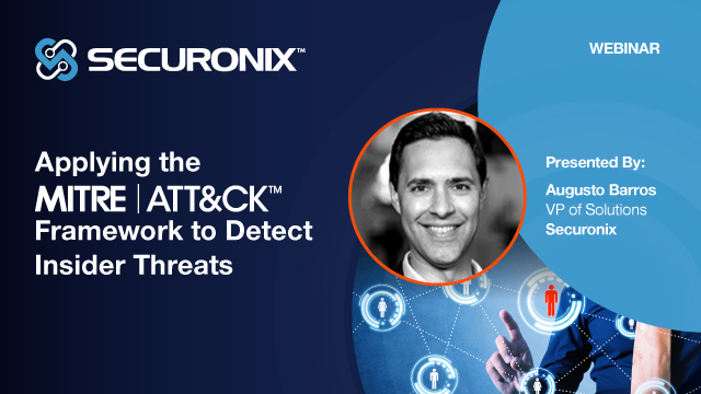 Applying the MITRE ATT&CK Framework to Detect Insider Threats