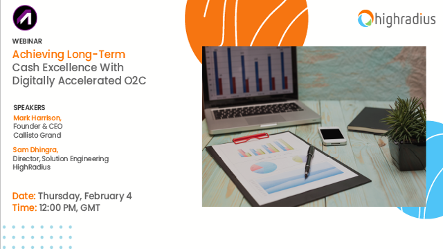 Agenda 2021: Achieving Long-Term Cash Excellence With Digitally Accelerated O2C