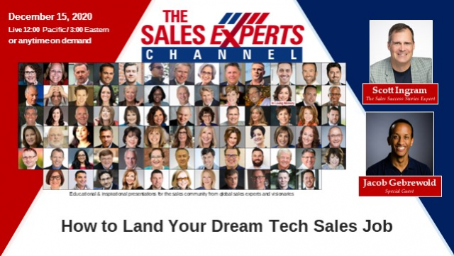 How to Land Your Dream Tech Sales Job