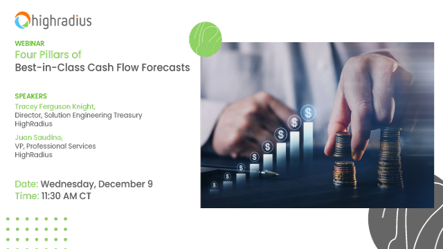 Four Pillars of Best-in-Class Cash Flow Forecasts